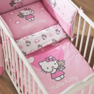 lit de bebe hello kitty